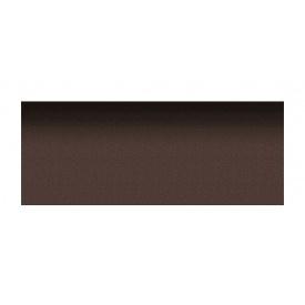 Коньково-карнизная плитка Aquaizol 250х1000 мм коричневый