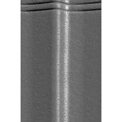 Цементно-піщана черепиця EURONIT Duratop Profil S 334х420 мм антрацит (00567)