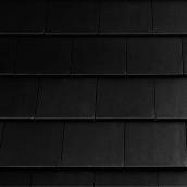 Цементно-піщана черепиця EURONIT Kapstadt 334х420 мм чорний перла (00571)