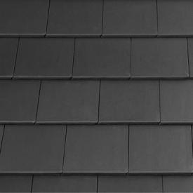 Цементно-піщана черепиця EURONIT Kapstadt 334х420 мм темно-сірий (00574)