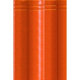 Цементно-песчаная черепица EURONIT Durator Extra 334х420 мм красный (00485)