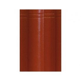 Цементно-песчаная черепица EURONIT Standard Extra 334х420 мм темно-красный (00578)