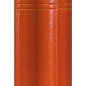 Цементно-піщана черепиця EURONIT Standard Extra 334х420 мм натуральний червоний (00576)
