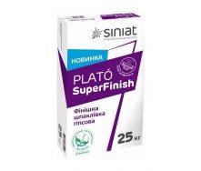 Финишная шпаклевка SINIAT PLATO SuperFinish гипсовая 25 кг белый