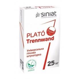 Штукатурка SINIAT PLATO Trennwand облегченная гипсовая 25 кг