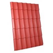 Металлочерепица монтеррей 0,45 мм красная