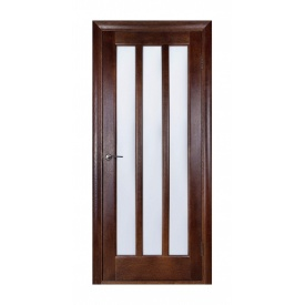 Дверь межкомнатная Белоруссии Троя ПОО 700x2000 мм темный орех