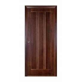Дверь межкомнатная Белоруссии Троя ПГ 600x2000 мм темный орех
