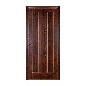 Двері міжкімнатні Двері міжкімнатні Білорусії Троя ПГ 600x2000 мм темний горіх
