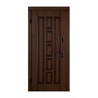 Дверь входная Двери Белоруссии Квадро-В 880x2040х85 мм