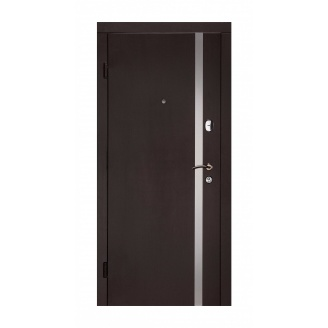 Дверь входная Двери Белоруссии Гермес 880x2040х70 мм венге