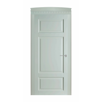 Дверь межкомнатная Двери Белоруссии 55 ПГ 600x2000 мм оливка