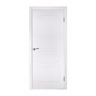Дверь межкомнатная Двери Белоруссии Версаль ПГ 600х2000 мм белая эмаль