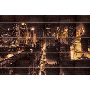 Панно АТЕМ Night City M 3575х2360 мм