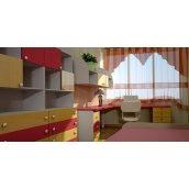 Виробництво вбудованих меблів на замовлення в дитячу