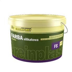 Краска фасадная силикатная база Greinplast FS белая 13,5 кг