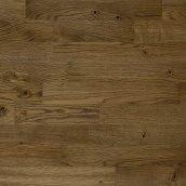 Паркетная доска трехполосная Focus Floor Дуб SANTA ANA легкий браш коричневое масло 2266х188х14 мм