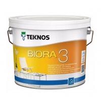 Краска TEKNOS Biora 3 9 л белый