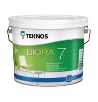Краска TEKNOS Biora 7 9 л база 3