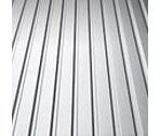Профнастил Альба Профиль ПС 7 0,40 мм 1170/1220 мм цинк (Украина/Китай)