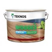 Масло для дерева TEKNOS WOODEX AQUA WOOD OIL 9 л бесцветный
