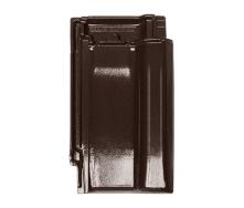 Черепица Braas Рубин 11V Глазурь 471х284 мм тековый