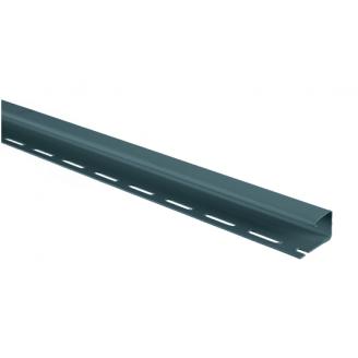 Планка J-trim Альта-Профиль Alta-Siding 3660 мм серо-голубой