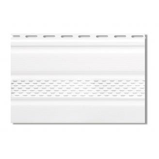 Софит Альта-Профиль Т-20 с частичной перфорацией 3000х232 мм белый