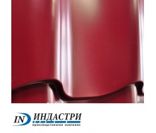 Металлочерепица ПК Индастри Monterrey 0,45x1250 мм 1195/1105 мм глянцевый полиэстер РЕ RAL 3005