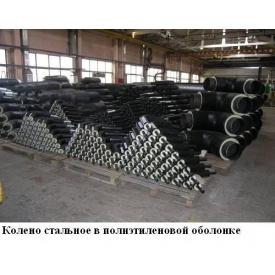 Колено стальное в ПЕ оболочке 38/110 мм