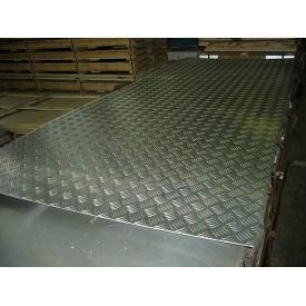 Алюминиевый лист рифленый Квинтет АД0 1,5х1250х2500 мм
