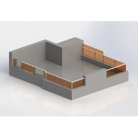 Проектування огородження на дах