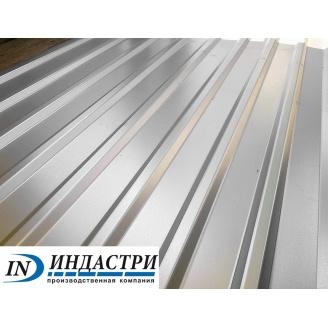 Профнастил Индастри ПС 10 цинк 950/1195 мм 0,55 мм