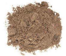 Пісок кар'єрний крупнозернистий насипом