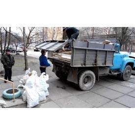 Вывоз строительного мусора Зилом