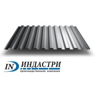 Профнастил Индастри ПС 20 цинк 910/1145 мм 0,6 мм