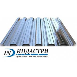 Профнастил Индастри ПК 35 цинк 1120 мм 0,5 мм
