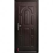 Двери Leader ЭКОНОМ с молотковым покрытием 960x2050 мм