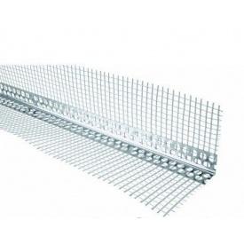 Кутник перфорований алюмінієвий з сіткою 3 м