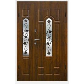Полуторные металлические двери Арма Ковка 105/11 860x2030 мм