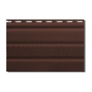 Софіт Альта-Профіль Т-20-УN з частковою перфорацією 3000х230 мм коричневый