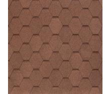 Бітумно-полімерна черепиця Tegola Nobil Tile Вест 1000х337 мм світло-коричневий
