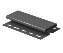 H-планка Budmat 3 м чорна