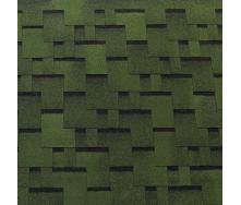 Битумная черепица Tegola Top Shingle Futuro 3 м2 зеленый