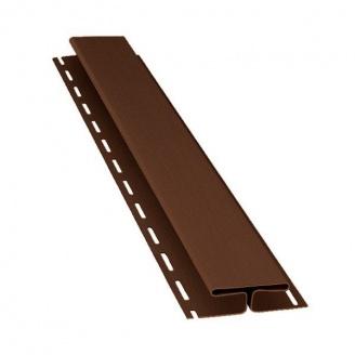 H-планка Budmat 3 м темно-коричнева