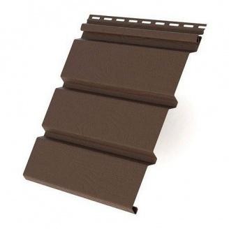 Панель софита Айдахо без перфорации 3,05 коричневая