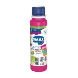 Краска-колер SMILE SC-31 акриловая матовая 0,35 кг розовый