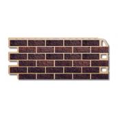 Фасадна панель Альта-Профіль Цегла 1130х470х20 мм Палений