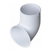 Слив трубы Альта-Профиль Элит 95 мм белый