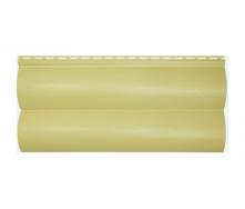 Сайдинг вініловий Альта-Профіль BlockHouse Slim двухпереломний 3660х230х11 мм лимонний